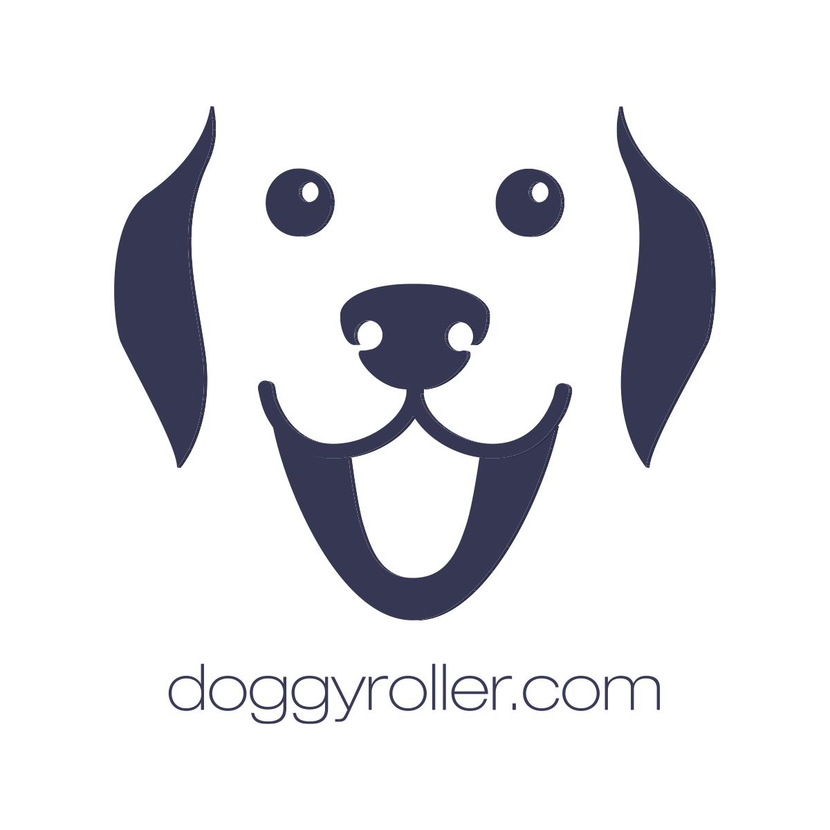 Logo Doggyroller dunkelblau